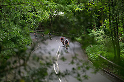 Lucinda Brand (NED) of Team Sunweb and Christine Majerus (LUX) of Boels-Dolmans Cycling Team lead the break during Stage 2 of the OVO Energy Women's Tour - a 144.5 road race, starting and finishing in Stoke-on-Trent on June 8, 2017, in Staffordshire, United Kingdom. (Photo by Balint Hamvas/Velofocus.com)