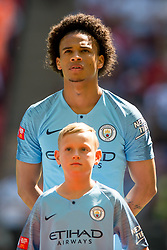 August 5, 2018 - Leroy Sané of Manchester City during the 2018 FA Community Shield match between Chelsea and Manchester City at Wembley Stadium, London, England on 5 August 2018. (Credit Image: © AFP7 via ZUMA Wire)