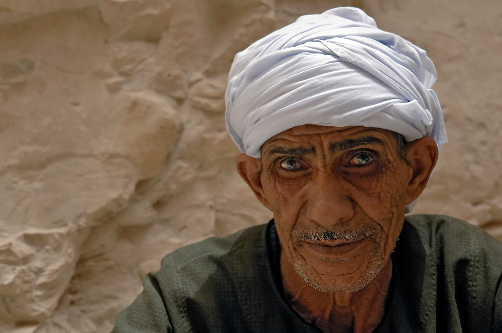 Portrait. Valley of the Kings, Egypt