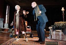 In the picture: Frances de la Tour, Peter Egan..People, by Alan Bennett, The Lyttelton Theatre, NT, London, Great Britain, November 7, 2012. Photo by Elliott Franks / i-Images.