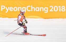 10.02.2018, Jeongseon Alpine Centre, Pyeongchang, KOR, PyeongChang 2018, Ski Alpin, Herren, Abfahrt, Training, im Bild Natko Zrncic Dim (CRO) // Natko Zrncic Dim of Croatia during the Mens Ski Alpine Downhill Training of the Pyeongchang 2018 Winter Olympic Games at the Jeongseon Alpine Centre in Pyeongchang, South Korea on 2018/02/10. EXPA Pictures © 2018, PhotoCredit: EXPA/ Johann Groder
