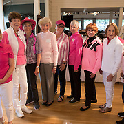 Volunteers for the annual Pink Ball Tournament pose for a picture.<br /> Photo by Jaime Valdez