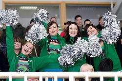 Cheerleaders Ice Ladies during ice-hockey match between HDD Tilia Olimpija and HK Acroni Jesenice in 26th Round of EBEL league, on December 10, 2010 at Hala Tivoli, Ljubljana, Slovenia. (Photo By Matic Klansek Velej / Sportida.com)