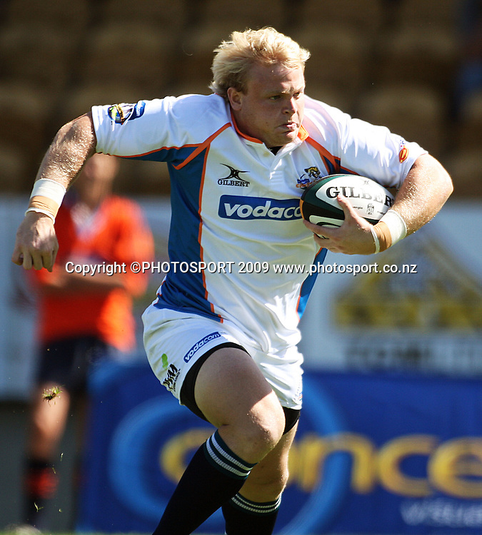 Cheetahs replacement Adriaan Strauss.<br /> Super 14 rugby union match, Hurricanes v Cheetahs at Yarrows Stadium, New Plymouth, New Zealand. Saturday 7 March 2009. Photo: Dave Lintott/PHOTOSPORT