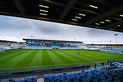 A general view of Manchester City Academy Stadium before the FA Women's Super League match between Manchester City Women and West Ham United Women at the Sport City Academy Stadium, Manchester, United Kingdom on 17 November 2019.
