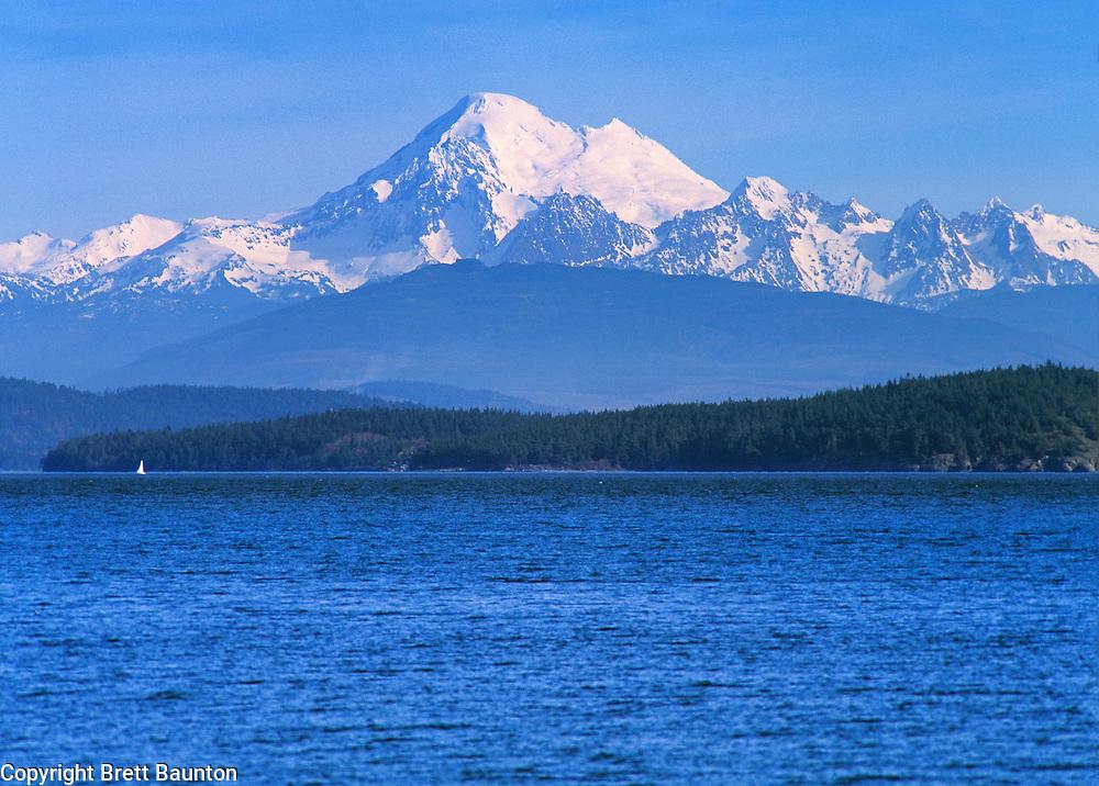 Mt. Baker, San Juan Islands, Washington State
