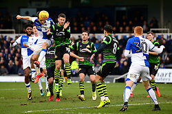 Tom Lockyer of Bristol Rovers heads towards goal - Mandatory by-line: Dougie Allward/JMP - 23/12/2017 - FOOTBALL - Memorial Stadium - Bristol, England - Bristol Rovers v Doncaster Rovers - Skt Bet League One