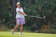 Nicole Jeray during the final round of the LPGA Qualifying Tournament Stage Three at LPGA International in Daytona Beach, Florida on Dec. 6, 2015.<br /> <br /> <br /> ©2015 Scott A. Miller