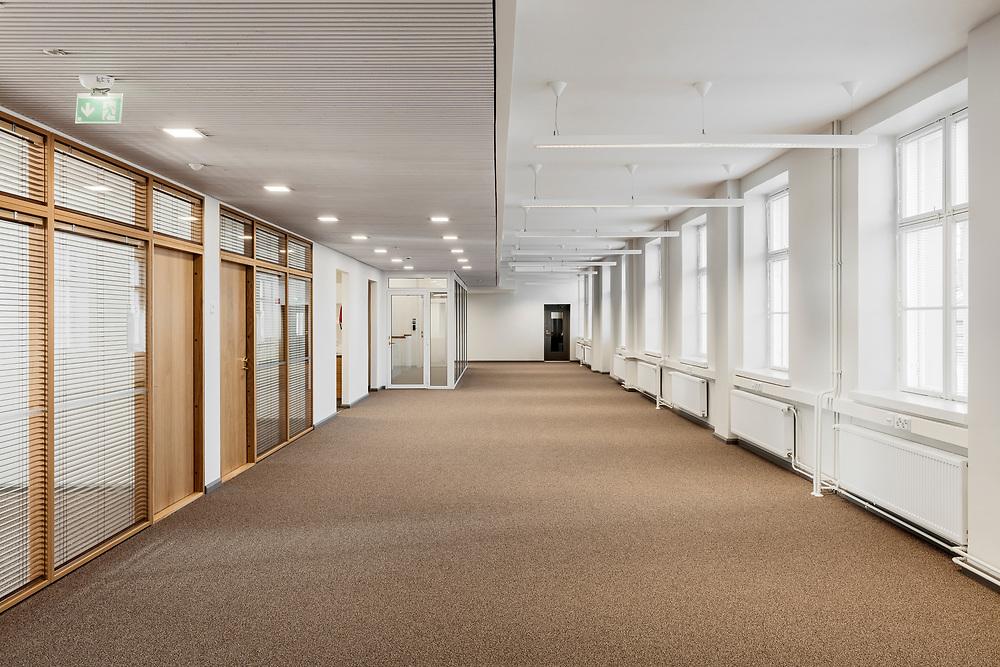 Sofiankatu 4 restauration in Helsinki, Finland designed by NRT architects.