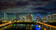 A view of downtown Austin,Texas skyline