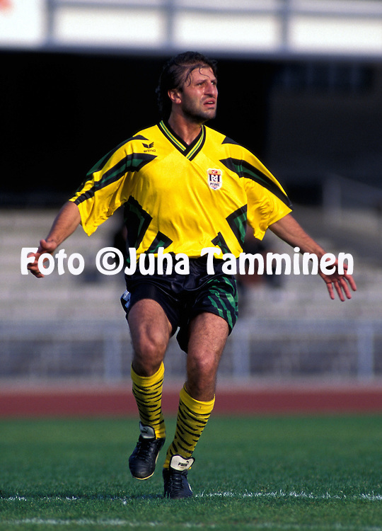 24.07.1996.Vardan Khachatryan - Puynic FC Erevan.©JUHA TAMMINEN