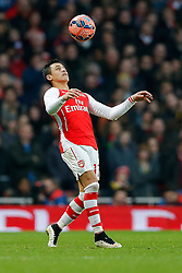 - Photo mandatory by-line: Rogan Thomson/JMP - 07966 386802 - 15/02/2015 - SPORT - FOOTBALL - London, England - Emirates Stadium - Arsenal v Middlesbrough - FA Cup Fifth Round Proper.