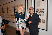 GWYNETH PALTROW; ALAN YENTOB, A Living man declared Dead and Other Chapters. Taryn Simon. Tate Modern, London. 24 May 2011. <br /> <br />  , -DO NOT ARCHIVE-© Copyright Photograph by Dafydd Jones. 248 Clapham Rd. London SW9 0PZ. Tel 0207 820 0771. www.dafjones.com.