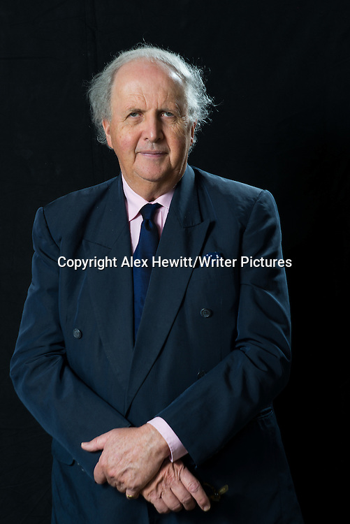 Alexander McCall Smith, Botswana born Scottish writer. Photographed at his home in Edinburgh, Scotland. 2nd April 2014<br /> <br /> Picture by Alex Hewitt/Writer Pictures<br /> <br /> World Rights