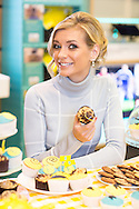 Rachel Riley attends EE Techy Party Day at Westfield, London. EE National Techy Tea Party Day tackles digital exclusion and took place at over 500 stores across the UK this morning.