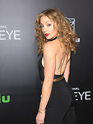 Stars seen attending the premiere of Hulu's 'Shut Eye' at ArcLight Theatre Hollywood in Los Angeles, California.<br /> 01 Dec 2016<br /> Pictured: Leah Gibson.<br /> Photo credit: Bauer Griffin / MEGA<br /> <br /> TheMegaAgency.com<br /> +1 888 505 6342