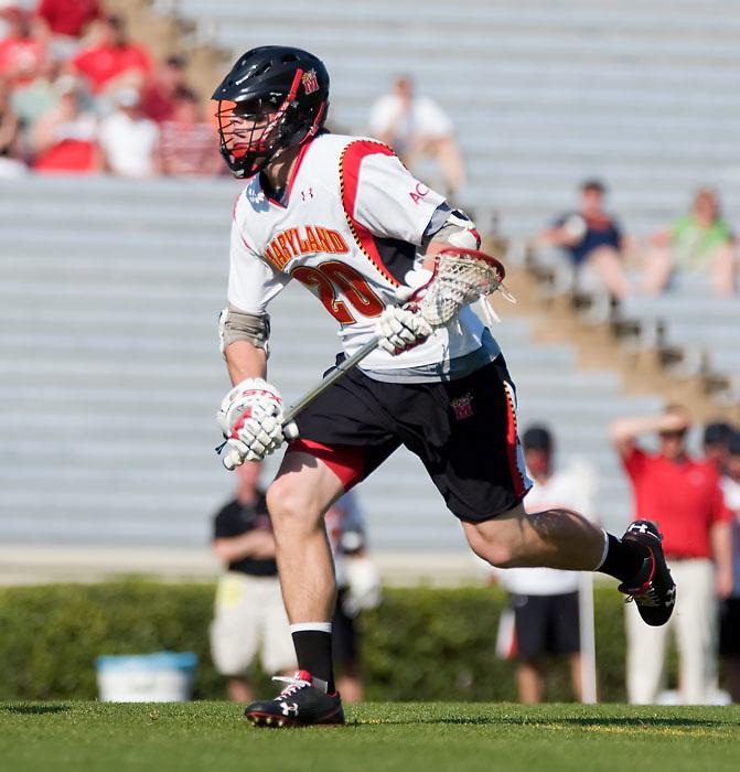 24 April 2009:Maryland senior middie #20 Jeremy Sieverts