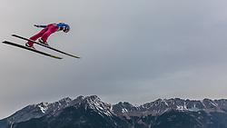 02.01.2016, Bergisel Schanze, Innsbruck, AUT, FIS Weltcup Ski Sprung, Vierschanzentournee, Training, im Bild Johann Andre Forfang (NOR) // Johann Andre Forfang of Norway during his Practice Jump for the Four Hills Tournament of FIS Ski Jumping World Cup at the Bergisel Schanze, Innsbruck, Austria on 2016/01/02. EXPA Pictures © 2016, PhotoCredit: EXPA/ JFK