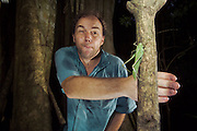 Testing the light barrier - Sulawesi, Indonesia (April 2004)
