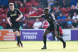 Gavin Massey of Wigan Athletic celebrates scoring a goal to make it 2-0 - Mandatory by-line: Robbie Stephenson/JMP - 21/04/2018 - FOOTBALL - Highbury Stadium - Fleetwood, England - Fleetwood Town v Wigan Athletic - Sky Bet League One