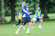 Forest Green Rovers Liam Noble during the Forest Green Rovers Training at the Cirencester Agricultural College, Cirencester, United Kingdom on 12 July 2016. Photo by Shane Healey.