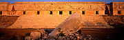 MEXICO, MAYAN CULTURE, YUCATAN Uxmal, the Governor's Palace, 600-900AD