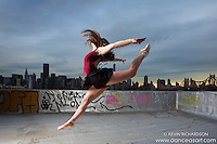New York City Rooftop Ballerina Melanie Olinsky - Dance As Art- The New York Photography Project