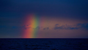 rainbow, nws, lynn, 1.-The end of the rainbow photographed outside of Homer AK from The Parigon fishing boat in the Cook Inlet. Photo by Tom Lynn