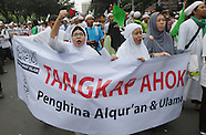 Indonesia: Rally Against Jakarta Governor by Religius Community, 14 Oct. 2016