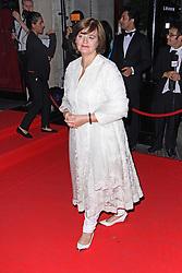 © Licensed to London News Pictures. 19/09/2014, UK. Cherie Blair, Asian Achievers Awards 2014, Grosvenor House Hotel, London UK, 19 September 2014. Photo credit : Brett D. Cove/Piqtured/LNP