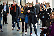 POPPY SCOTT-PLUMMER; LAURA PARKER BOWLES, Art13 London First night, Olympia Grand Hall, London. 28 February 2013