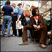 Lenny Kravitz, Berwick Street, Soho London 1990s