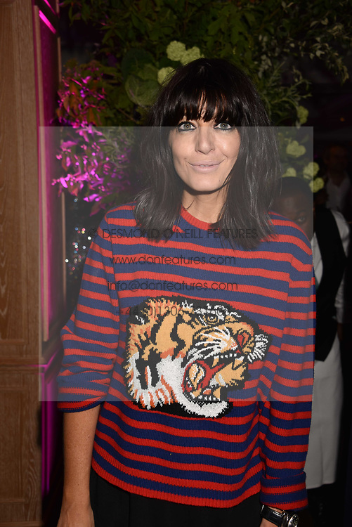 Claudia Winkleman at the 2017 Fortnum & Mason Food & Drink Awards held at Fortnum & Mason, Piccadilly London England. 11 May 2017.<br /> Photo by Dominic O'Neill/SilverHub 0203 174 1069 sales@silverhubmedia.com