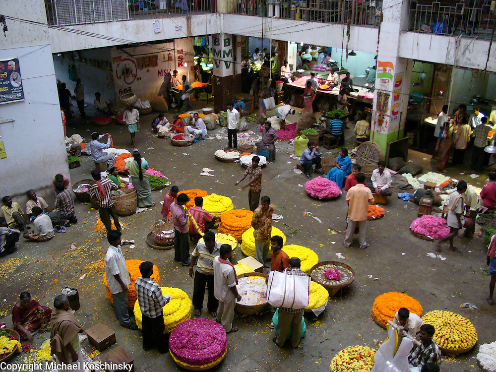 Flower Petal Market in Bangalore