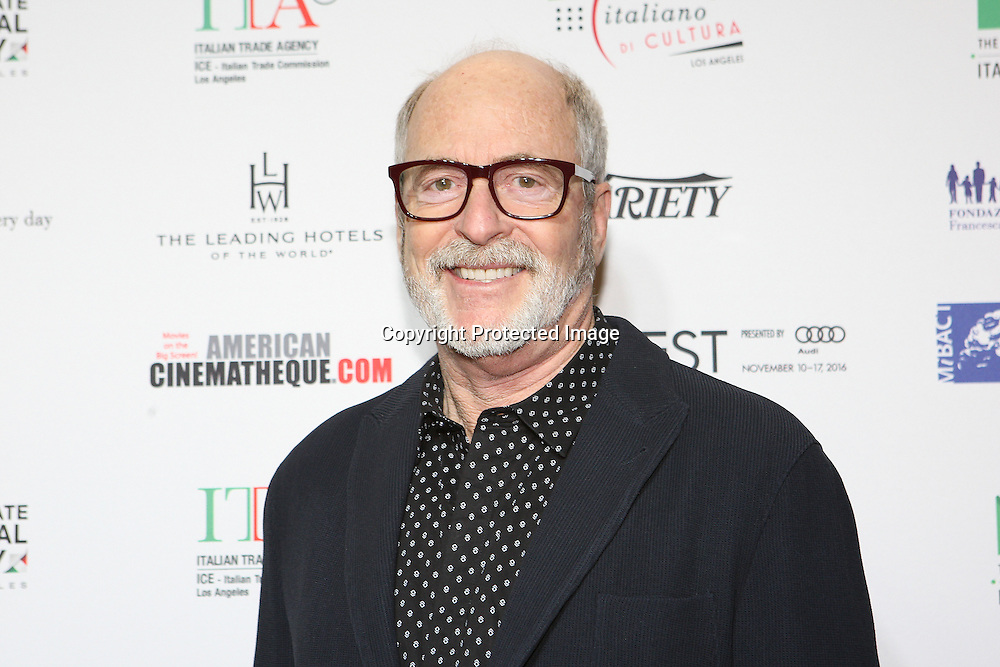 Greg Gorman attends a Conversation with Gianfranco Rosi and screening of Fire at Sea at AFI Fest 2016 presented by AUDI at the Graumans Egyptian in Hollywood, CA on November 17th