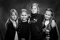 Arndís, Sóley, Stella og Heiðrún.