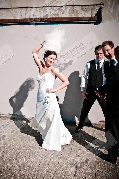 Andrea and Adam's wedding.