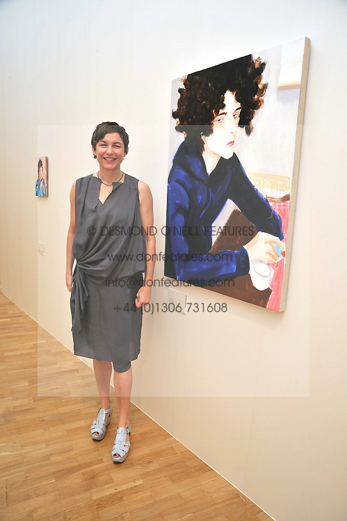 Artist ELIZABETH PEYTON at a private view of work by artist Elizabeth Peyton 'Live Forever' held at the Whitechapel Gallery, 77-82 Whitechapel High Street, London E1 on 7th July 2009.