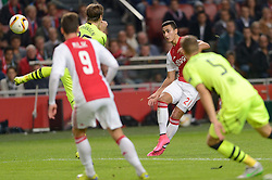 17-09-2015 NED: UEFA Europa League AFC Ajax - Celtic FC, Amsterdam<br /> Ajax heeft in zijn eerste duel in de Europa League thuis moeizaam met 2-2 gelijkgespeeld tegen Celtic / Anwar El Ghazi #21