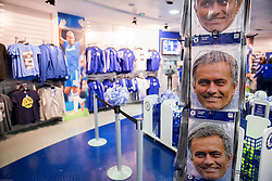 Jose Mourinho, head coach of Chelsea as a mask in official fans shop prior to the football match between Chelsea FC and NK Maribor, SLO in Group G of Group Stage of UEFA Champions League 2014/15, on October 21, 2014 in Stamford Bridge Stadium, London, Great Britain. Photo by Vid Ponikvar / Sportida.com