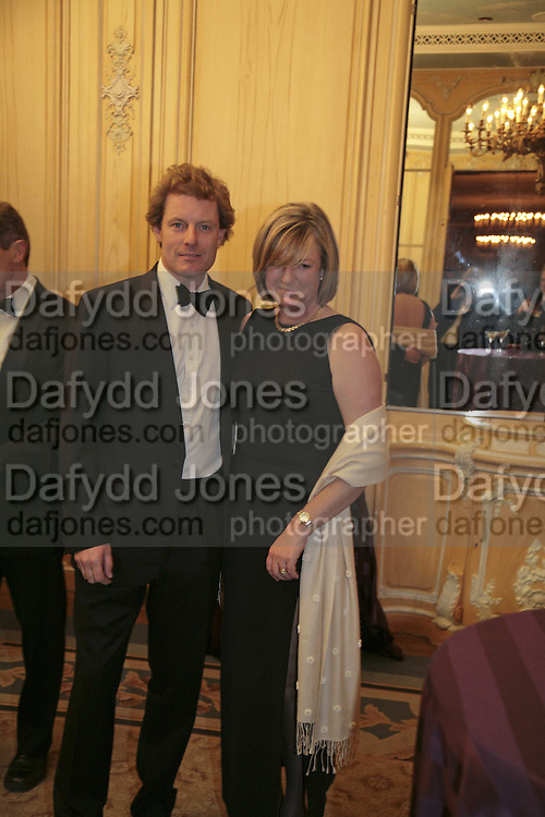 Hon Peter and Mrs. Stanley, Cartier Racing Awards , Four Seasons Hotel, Hamilton Place, London, W1, 15 November 2006. ONE TIME USE ONLY - DO NOT ARCHIVE  © Copyright Photograph by Dafydd Jones 66 Stockwell Park Rd. London SW9 0DA Tel 020 7733 0108 www.dafjones.com