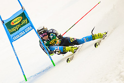 March 9, 2019 - Kranjska Gora, Kranjska Gora, Slovenia - Gustav Lundbaeck of Sweden in action during Audi FIS Ski World Cup Vitranc on March 8, 2019 in Kranjska Gora, Slovenia. (Credit Image: © Rok Rakun/Pacific Press via ZUMA Wire)