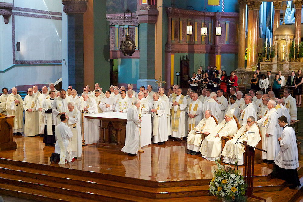 Paulist Fathers at St Paul's 5-28