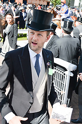 LORD EDWARD SPENCER-CHURCHILL at the Investec Derby 2015 at Epsom Racecourse, Epsom, Surrey on 6th June 2015.