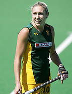Shelley RUSSELL during the BDO Women's Champions Challenge 1 match between South Africa and Spain held at the Hartleyvale Stadium in Cape Town, South Africa on the 17 October 2009 ..Photo by RG/www.sportzpics.net.+27 21 (0) 21 785 6814