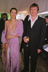 SIMON & YASMIN LE BON, he is the singer, she is the model, at a party in London on 5th June 1999.MSX 11