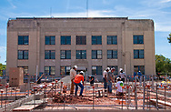 Pawnee County Court House construction of a new county jail.