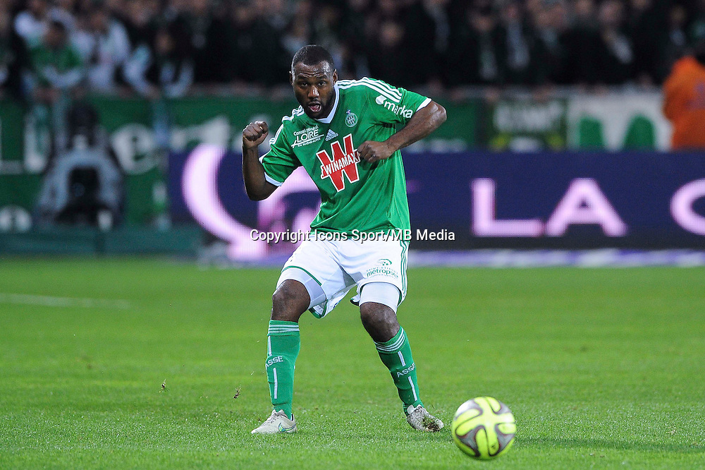 Kevin THEOPHILE CATHERINE  - 21.12.2014 - Saint Etienne / Evian Thonon - 19eme journee de Ligue 1<br /> Photo : Jean Paul Thomas / Icon Sport