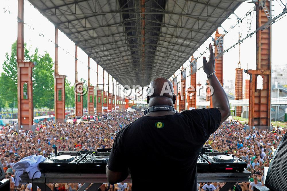 &copy; Filippo Alfero<br /> Kappa FuturFestival - Torino Summer Music Festival<br /> Torino, 30/06/2012<br /> Nella foto: Carl Cox