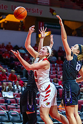 NORMAL, IL - November 05: Megan Talbot during a college women's basketball game between the ISU Redbirds and the Truman State Bulldogs on November 05 2019 at Redbird Arena in Normal, IL. (Photo by Alan Look)